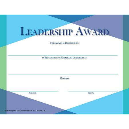 GLASS LEADERSHIP AWARD