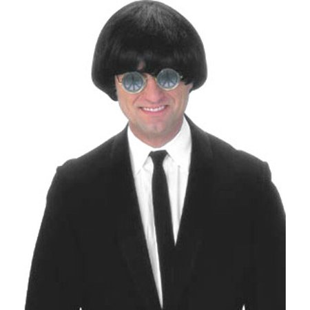 Adult 60's Black Beatles Costume Wig - Beatle Wigs