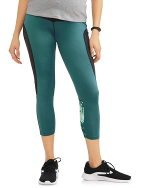 Moda Maternity Legging with Colorblock and Full Panel