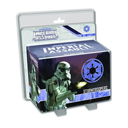 Star Wars: Imperial Assault - Stormtroopers Villain Pack, This Villain Pack features three plastic Stormtrooper figures with an alternate.., By Fantasy Flight Games](Imperial Stormtrooper)