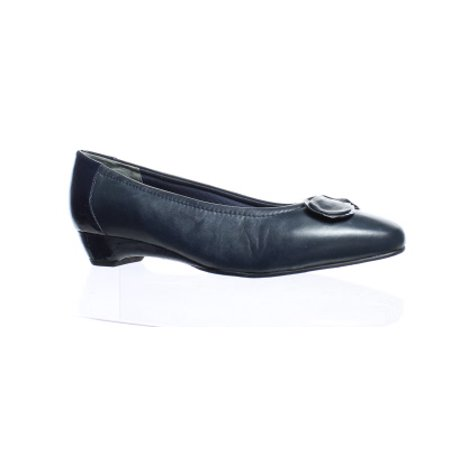 Mark Lemp Footwear Womens Bean Navy Pumps Size 9.5 (C,D,W)