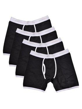 Product Image Wanted Men s Cotton Sport Stretch Boxer Briefs 4 Pack 5a3e3d00e52c