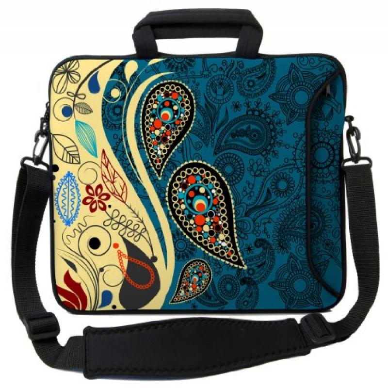Designer Sleeves Paisley Fashion Executive Case for 14-In...