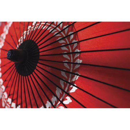 Japanese Red Umbrella - Kyoto Japan Poster Print - 19 x 12 in. - image 1 de 1