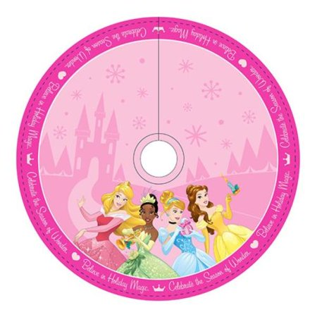 48 inch disney princess christmas tree skirt