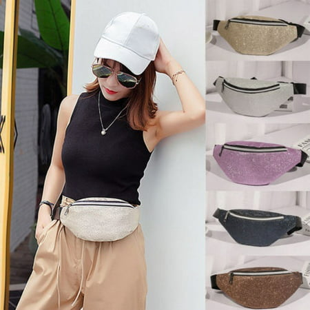 a4c441a433e Honganda - Fashion Women Waist Fanny Pack Belt Bag Pouch Travel Hip Bum Bag  Small Purse - Walmart.com