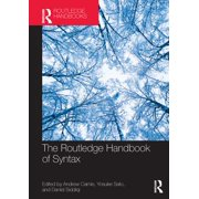 The Routledge Handbook of Syntax - eBook