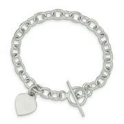 925 Sterling Silver Dangling Heart Charm Bracelet W/charm Fine Jewelry Ideal Gifts For Women Gift Set From Heart