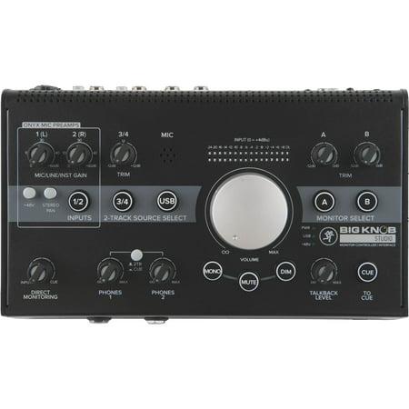 Mackie Big Knob 3X2 Studio Monitor Controller   96Khz Usb I O