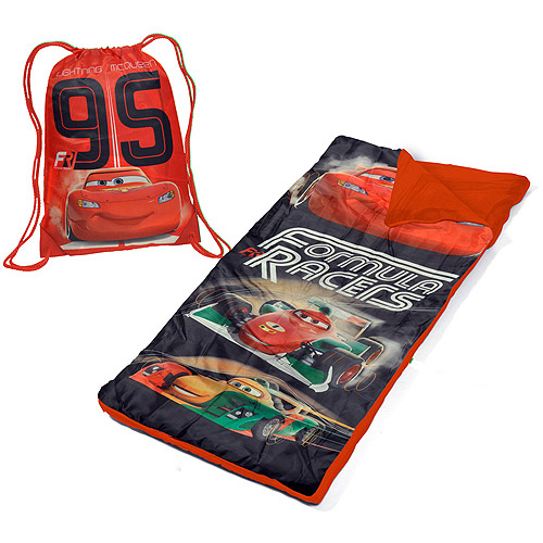 Disney Cars Toddler Slumber Duffle Nap Mat