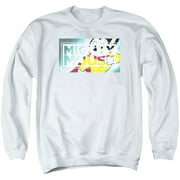 Mighty Mouse Mighty Rectangle Mens Crewneck Sweatshirt