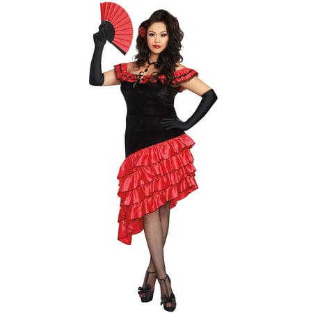 Spanish Dancer Plus Costume (Dancer Costumes)