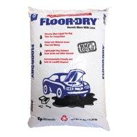 Floor-Dry DE Premium Oil Absorbent, Diatomaceous Earth, 25lb Poly Bag -MOL9825