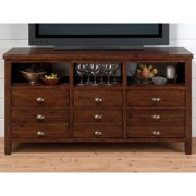 Jofran Urban Lodge 60 in. Media Unit - Brown