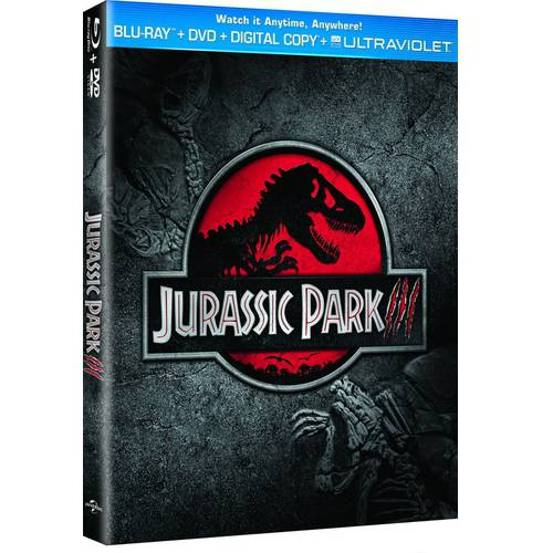 Jurassic Park III (Blu-ray + DVD + Digital Copy With UltraViolet)