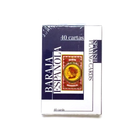 Don Manolo Spanish Suite Playing Cards - 1 Sealed Blue