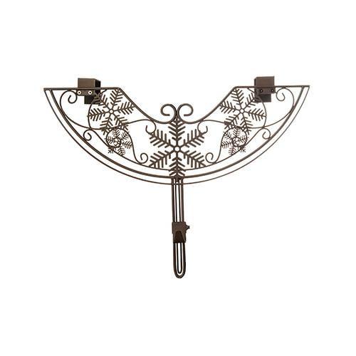 Village Lighting V-10941-TV Snowflake Wreath Hanger, Adju...