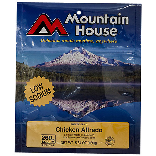Mountain House Low Sodium Chicken Alfredo