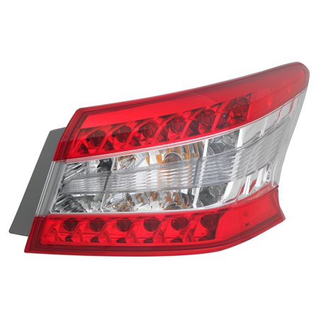 Fits 2013-2015 Nissan Sentra Passenger Right Side Rear Back Lamp Tail (Nissan Sentra Tail Lamp)