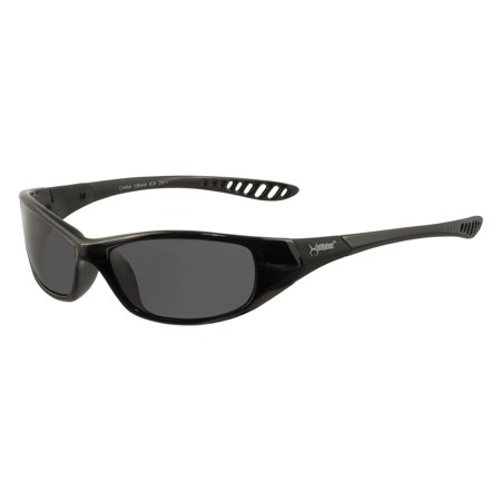 Jackson Safety* V40 HellRaiser Safety Glasses, Black Frame, Smoke Lens