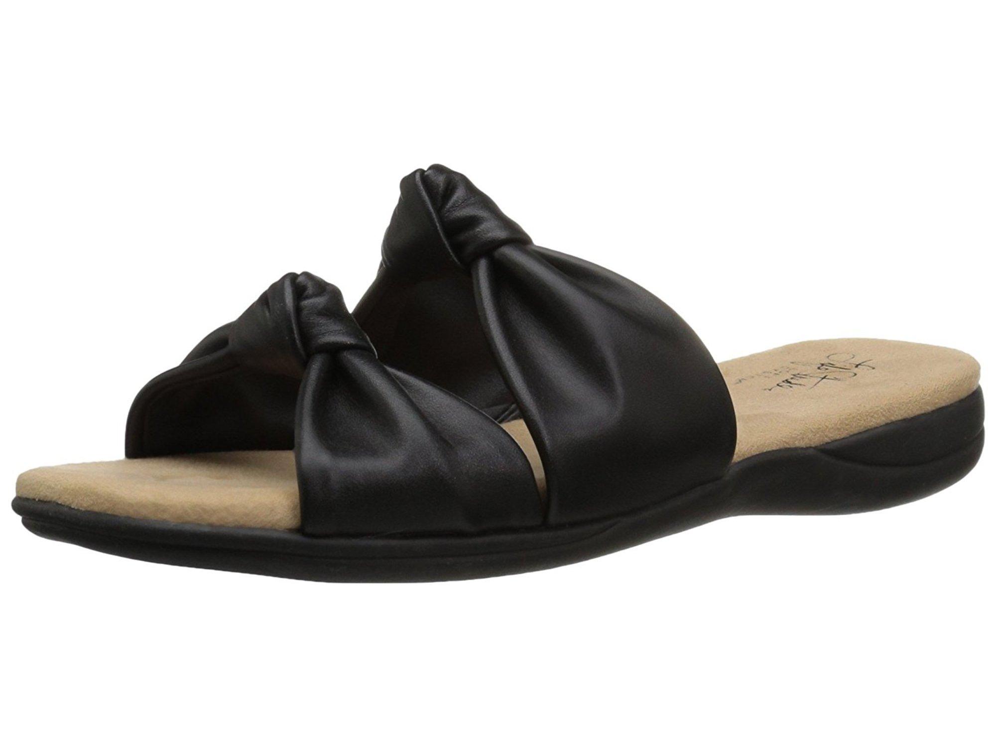 Lifestride Womens Eden Open Toe Casual Slide Sandals by LifeStride