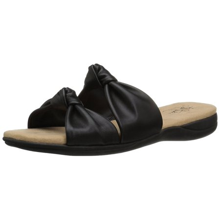 - Lifestride Womens Eden Open Toe Casual Slide Sandals
