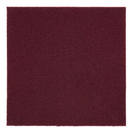 Nexus 12x12 Self Adhesive Carpet Floor Tile 12 Tiles 12
