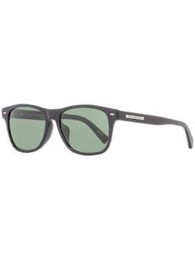 05e9fb577f6 Product Image Ermenegildo Zegna Rectangular Sunglasses EZ0020F 01R Shiny Black  Polarized 56mm 20