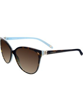 8b7ffaf04c Product Image Tiffany   Co Women s Gradient TF4089B-81343B-58 Tortoiseshell  Butterfly Sunglasses