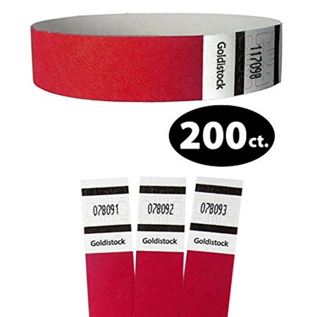 Tyvek Event Wristbands - Original Series - 3/4