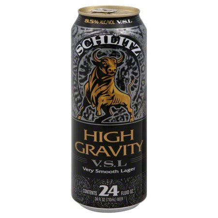 Schlitz High Gravity, 24 fl oz