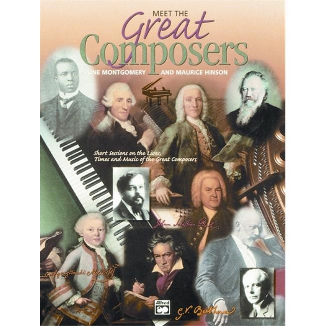 Alfred 00-11756 Meet the Great Composers- Book 1 - Music Book