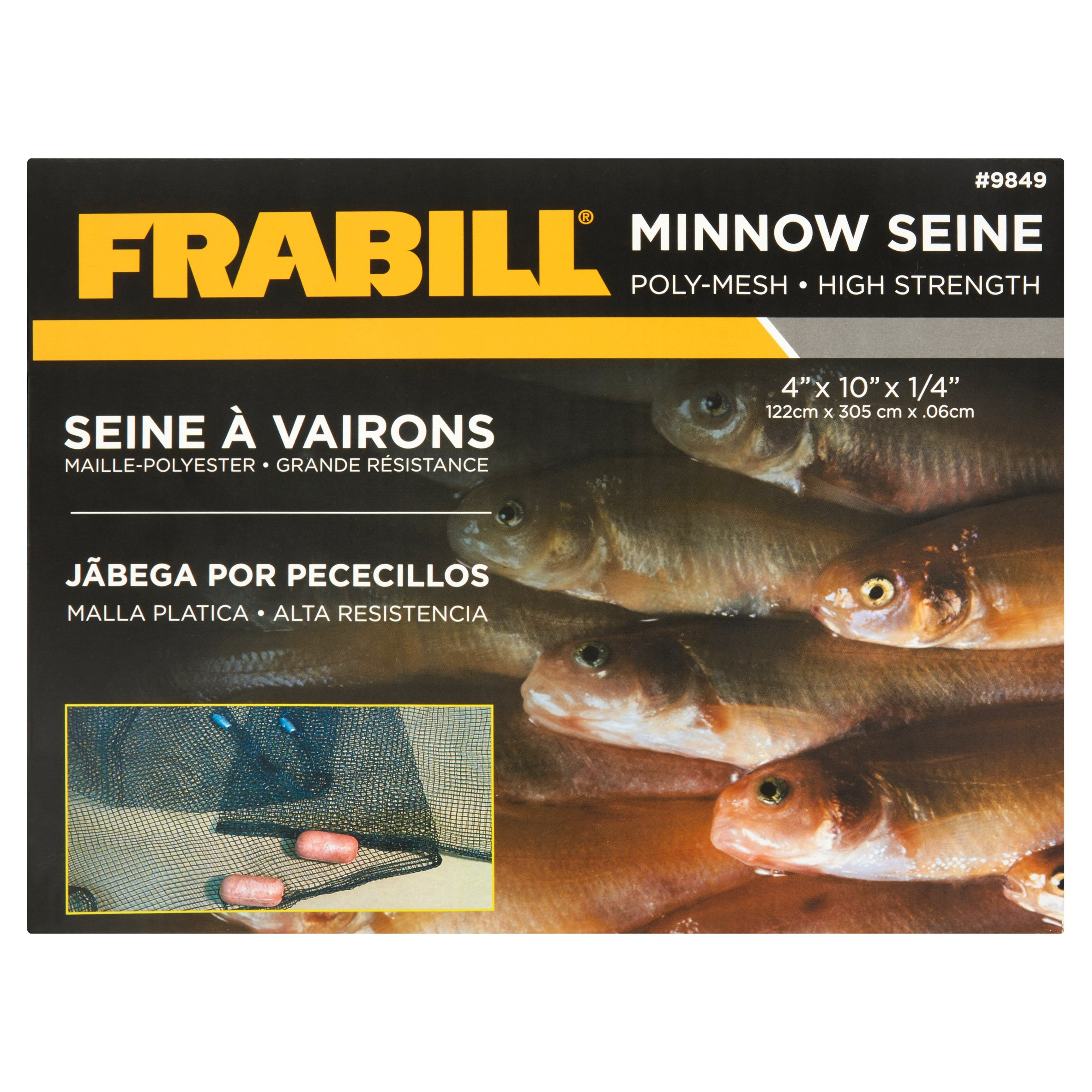 Frabill Poly-Mesh High Strength Minnow Seine