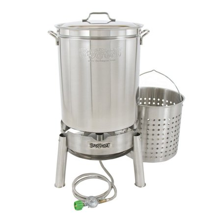 Bayou Classic Stainless Steel Boil and Steam Outdoor Burner