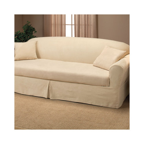 Bundle-22 Madison Home Microsuede Two Piece Sofa Slipcover (2 Pieces)