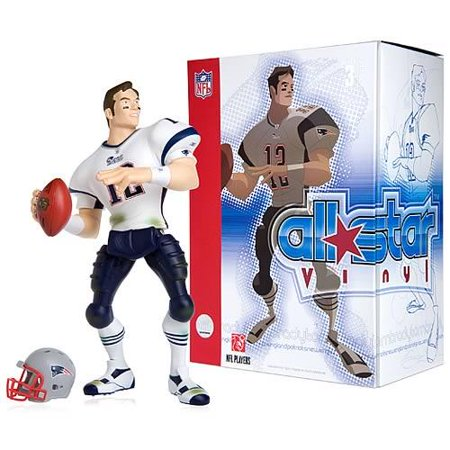 best sneakers 597bb fe2ed NFL All Star Vinyl Tom Brady Vinyl Figure [White Away Jersey]