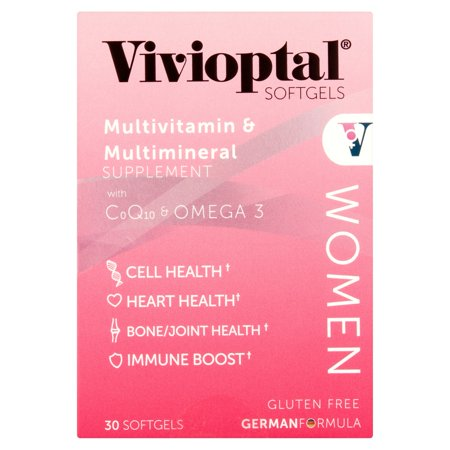 Vivioptal Women's Multivitamin Vivioptal Women's Multivitamin Capsules feature a special formula that helps you maintain a healthy lifestyle. Each one contains essential vitamins and minerals, including Omega 3 and CoQ10. It helps support your overall wellness. Incorporate these Vivioptal multivitamin capsules into your daily routine for optimal results.Vivioptal Women's Multivitamin: