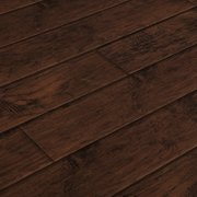 "BuildDirect Hickory Ebony 12mm 48"" X 6.37"" Laminate Flooring (21.32sq. ft. per box)"