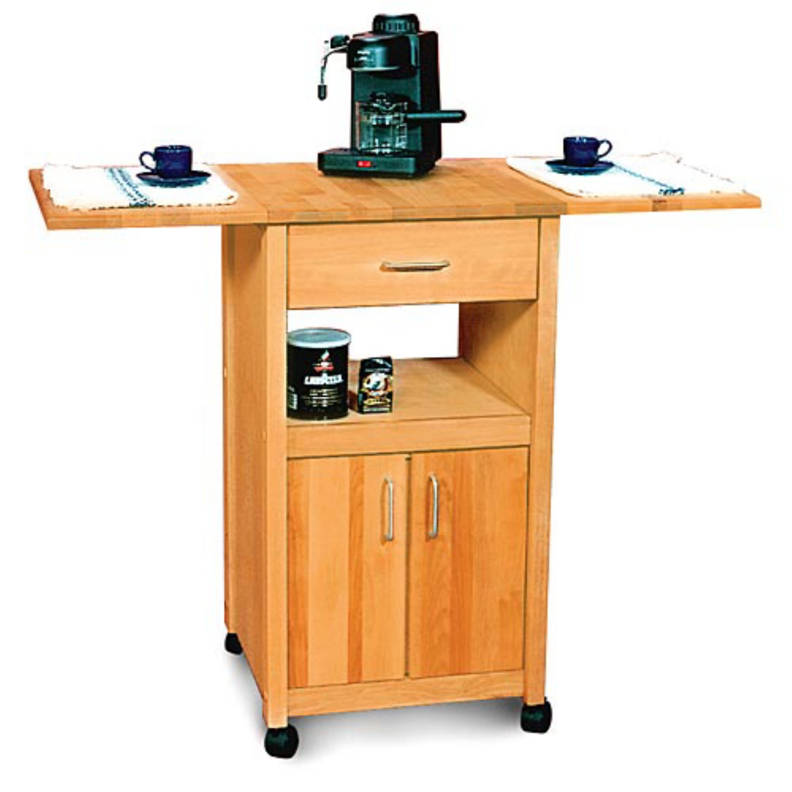 Ashton Drop Leaf Kitchen Cart
