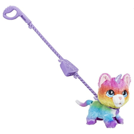 - furReal Walkalots Big Wags Unicorn Cat Toy, Ages 4 and up
