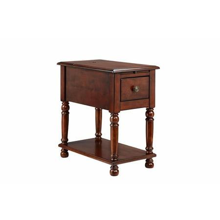 stein world eldora 2 2 1 amp usb ports accent table. Black Bedroom Furniture Sets. Home Design Ideas