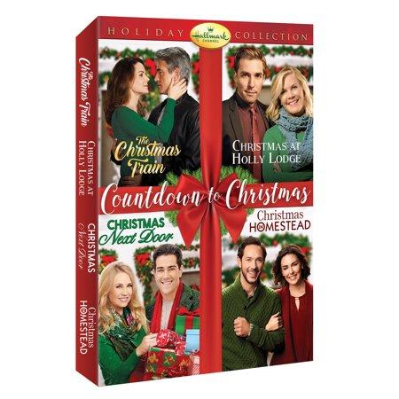 Hallmark 4-Movie Collection: The Christmas Train/ Christmas at Holly Lodge/ Christmas Next Door/ Christmas Homestead (DVD) ()