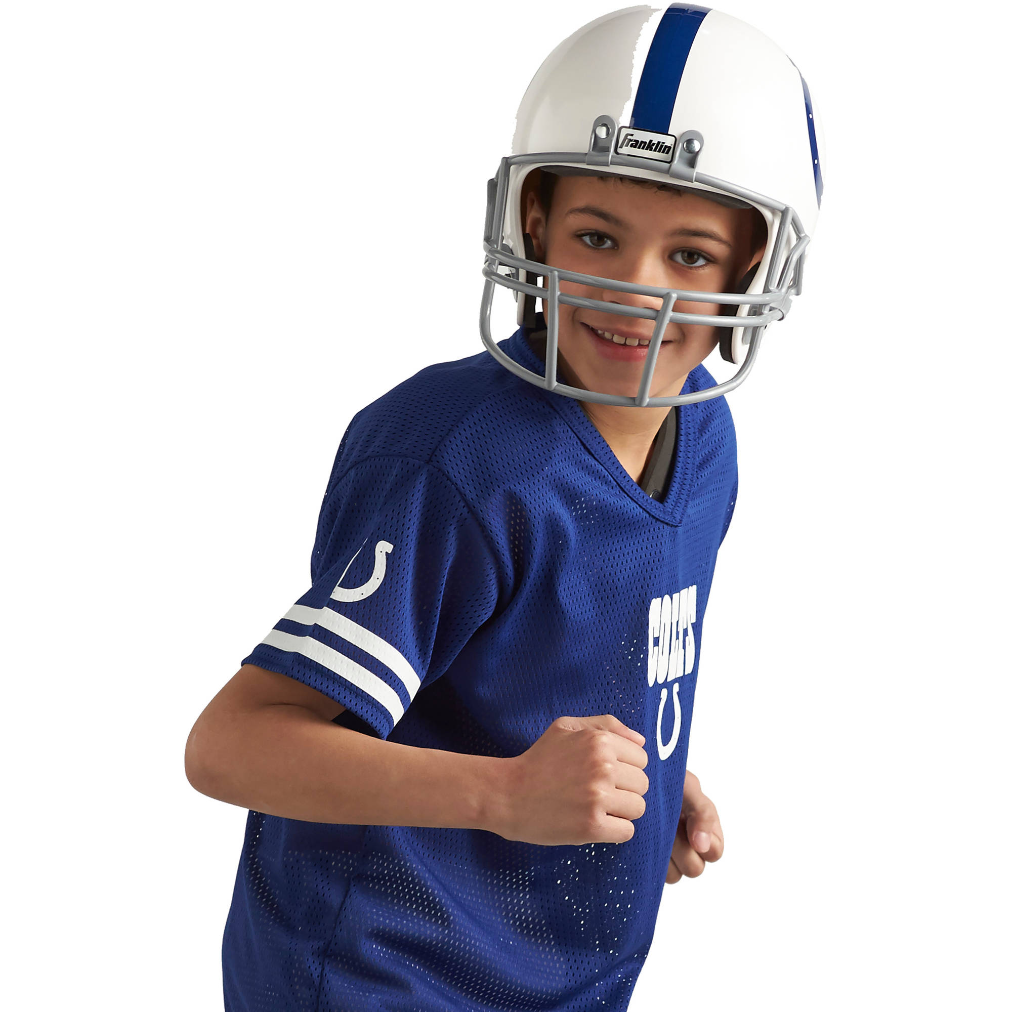 1bb695d96 Kids Indianapolis Colts Costume Helmet NFL Football Youth Sports Uniform Set  S