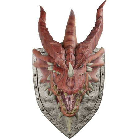 WizKids Dungeons and Dragons Red Dragon Trophy Wall Plaque