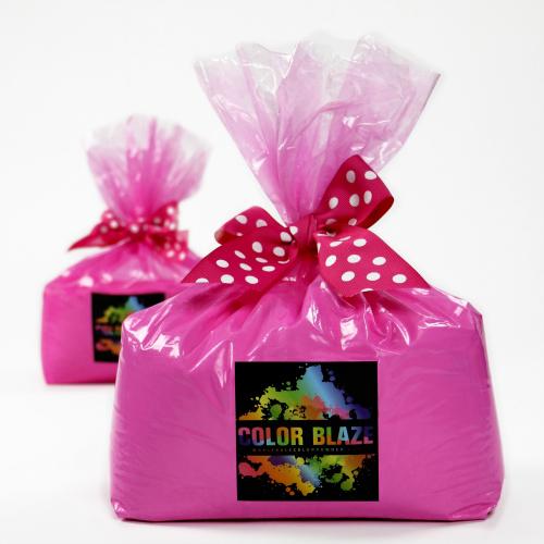 Gender Reveal Pink Color Powder - 10 Pounds