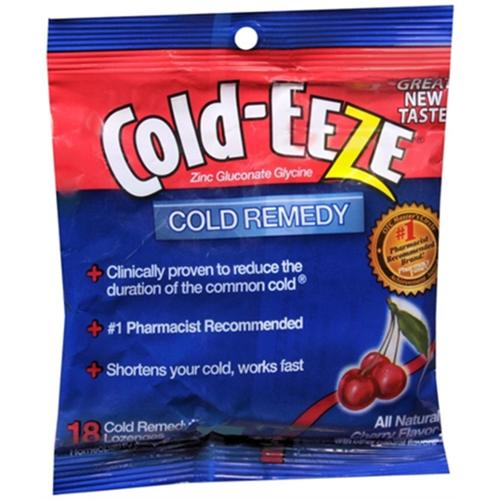 COLD-EEZE Lozenges Natural Cherry 18 Each (Pack of 2)