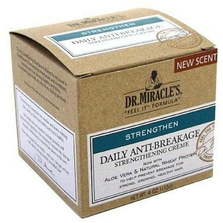 6 Pack - Dr. Miracle's Anti-Breakage Strengthening Creme, 4