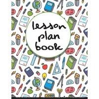 Lesson Plan Book : Teacher Plan Book and Record Book - (Large Print 8.5x11) Undated 50 Week for Management Classroom: Teacher Plan Book