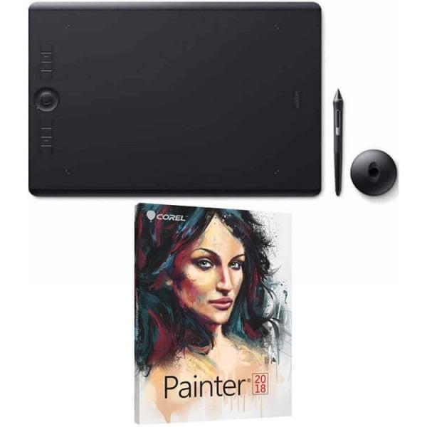 Wacom Intuos Pro Large Pen Tablet PTH860 (FREE Corel Painter 2018 Academic) by Wacom