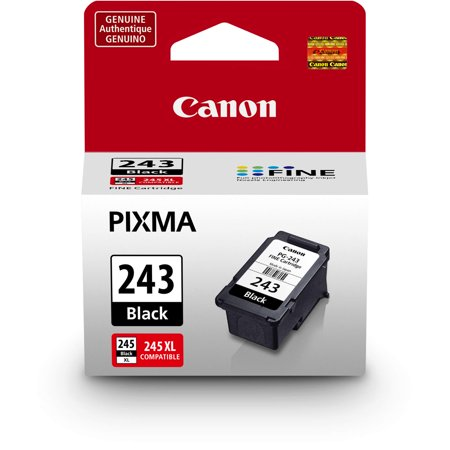 Canon PG-243 Black Ink Cartridge, Compatible to MX492, MG3020, MG2920,MG2924, iP2820, MG2525 and MG2420
